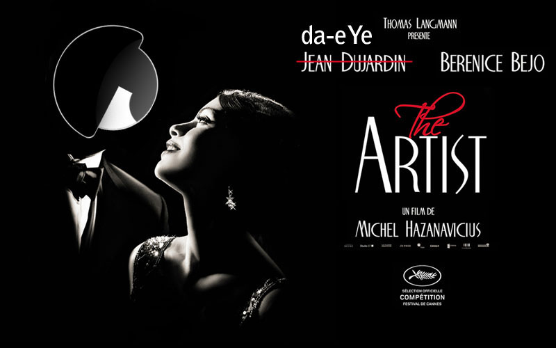 da-eYe celebrates French silent movie The Artist
