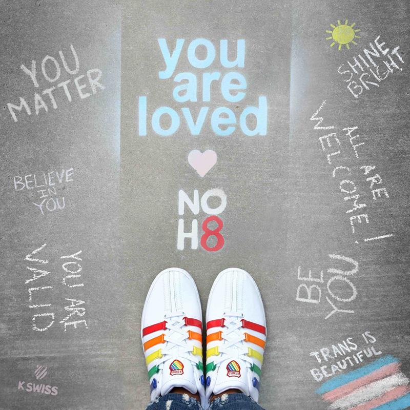 NOH8 Campaign x K-Swiss Pride Classic VN